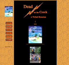 Dead On The Creek Website Image
